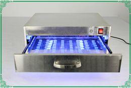 laminador máquina iphone oca Desconto máquina TBK-966A Led cura UV forno lâmpada Caixa 60 pcs UV cola cura gaveta luz para reparação LCD