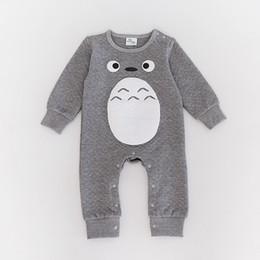 комбинезон тоторо Скидка 2017 новый детская одежда Тоторо комбинезон для новорожденных костюм тела детская одежда мальчики девочки комбинезон Детские ползунки хлопок детская одежда
