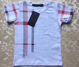 vêtements enfants de marque pas cher Promotion Hot 2019 vêtements pour enfants Marque 2-7 Ans Bébés Garçons Filles T-shirts Eté Chemise Tops Enfants T-shirts Enfants vêtements