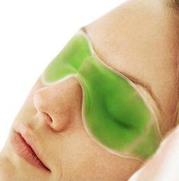 Gel packs olhos on-line-Máscara de Dormir de Gelo Máscaras de Dormir Sombreamento Verão óculos de gelo aliviar a fadiga ocular olheiras gel de gelo bloco de olho GGA1795