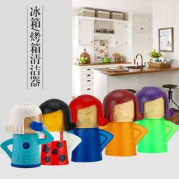 2019 i capezzoli all'ingrosso della bottiglia del bambino Angry Mama Microwave Cleaner Facilmente pulisce il forno a microonde Apparecchi di pulizia a vapore per la cucina Pulizia del frigorifero