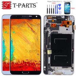 affichage 5.7 Promotion AMOLED 5.7 '' LCD Pour Galaxy Note 3 Écran LCD Note3 N9005 Écran tactile avec cadre N9002 N9006 N9000 N900A Remplacer