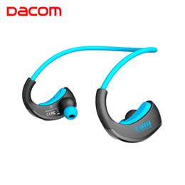 dacom bluetooth kopfhörer Rabatt Dacom Armour wasserdichte Sport-drahtlose Kopfhörer Bloototh Bluetooth-Kopfhörer-Kopfhörer-Ohr-Telefone mit Freisprechmikrofon für das Laufen T6190617