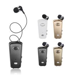 drahtloser clip bluetooth kopfhörer Rabatt Mini Wireless Driver Bluetooth Headset Anrufe Erinnern Vibration Tragen Clip Sport Lauf Kopfhörer Einzel ohrhörer bluetooth 5,0