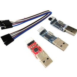PL2303 CP2102 CH340G Модуль USB-адаптер TTL с 4-контактным комплектом DuPont Line cheap lining kit от Поставщики комплект подкладки