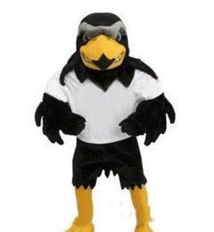 2019 Professional custom-made Deluxe Plush Falcon Traje Da Mascote Adulto Tamanho Águia Mascotte Mascota Carnaval Partido Cosply Costum de