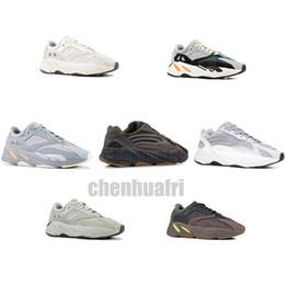 2019 melhores sapatilhas 700 V2 Inércia corredor da onda Homens Mulheres Designer Sneakers New estática malva melhor qualidade Kanye West sapatos de desporto 5-12 melhores sapatilhas barato
