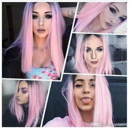 Couleur de cheveux rose clair
