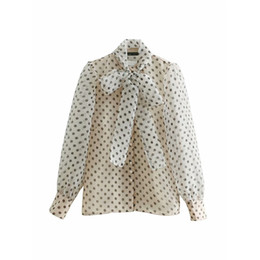"Остроконечный свитер онлайн-European and American wind ""collar bowknot is acted the role of long wave point perspective smock ladies' sweater coat"
