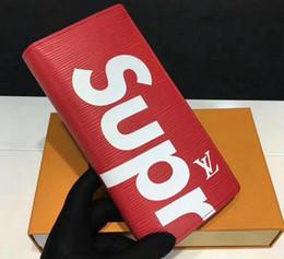 2019 krawatte farbstoff preise SUP Hohe qualität großhandel niedrigen preis Herren Marke Brieftasche Leder Mit Brieftaschen Für Männer Geldbörse schlange günstig krawatte farbstoff preise