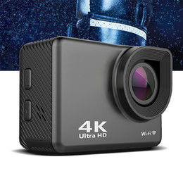2019 sony action OnReal wifi action sport camera X20QS pantalla de 2.0 pulgadas 4k action sport camera sony IMX 175 4G cam car dvr rebajas sony action