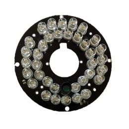 2019 beleuchtungsnachtlicht 2 Teile / los Infrarot 36 IR LED Licht Bord für Überwachungskameras nachtsicht (durchmesser 57mm)