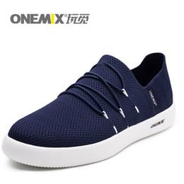 2019 scarpe da ginnastica onemix ONEMIX Uomo Leggero Scarpe Casual Slip-on Mesh traspirante superiore Sneakers per donna zapatillas hombre scarpe da ginnastica onemix economici