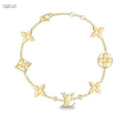 pulseiras de fantasia para as mulheres Desconto luxo designer de jóias mulheres pulseiras fantasia forma pulseiras de titânio pulseira de aço duplo diamante carta pulseira
