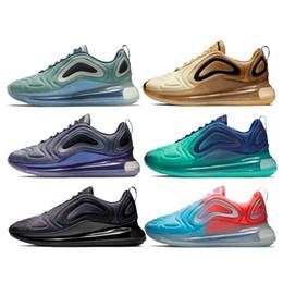 Canada Nike Air Max 720 Designer VM Moc Plus Hommes Femmes Chaussures De Course Triple Noir Blanc Sprite Rouge Blé Rose Bon Trainer Sport Sneaker Taille 36-45 Vente Chaude cheap forest gold Offre