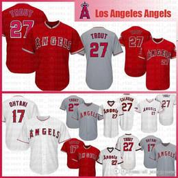 7f0cec87e65 Angels 27 Mike Trout Los Angeles Baseball Jerseys cool base 17 Shohei  Ohtani Jersey Mens Adult SIZE M-XXXL FDXG