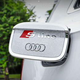 prado aufkleber Rabatt 2018 neue Audi Q5L Tankdeckel Dekoration Q5L Tankdeckel Aufkleber Q5L Refit