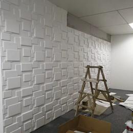 Painel de parede on-line-50 * 50 cm Pvc Placa Retardante Chama Parede À Prova D 'Água Postou TV Fundo 3D Pvc Panel Room Decoração Acessórios Decor Vintage