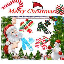 2019 häkelhut rentier LED Weihnachtsmütze Strickmütze Schal Kind Erwachsene Weihnachtsmann Schneemann Rentier Elch Outdoor Hüte Weihnachtsschmuck häkeln Hüte T2C5064 günstig häkelhut rentier
