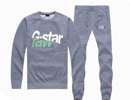 M533967415 Hot sale G STAR Sweatshirts PANTS suit for Men and Women Fleece Lined Hip Hop Skateboard Crewneck hoodies S 4XL