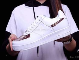 002 Nueva Venta Caliente Air 1 One High 07 AF1 Zapatos Corrientes Hombres Mujeres Deportes Zapatos Casuales Barato High Cut Walking Sneakers desde fabricantes