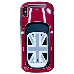 Iphone carro 3d on-line-Designer de luxo 3d tampa da caixa do carro para iphone x xs max xr 7 6 6 s 8 plus eu telefone 8 plus 7 plus telefone silicon bumper par casos atacado