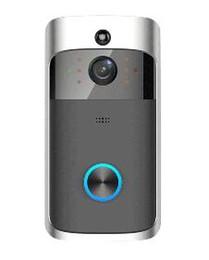 cámaras de seguridad audio video Rebajas 2019 M3 Timbre de video inalámbrico Timbre de la cámara Timbre de la puerta Control bidireccional de audio Control de WIFI Control remoto de seguridad en el hogar HD Monitor visible