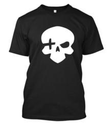 Xbox vinilo online-McCree Skull camiseta camiseta camiseta XBOX PS4 PC 25 colores cualquier tamaño VINYL