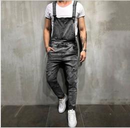 Calças de calças on-line-Calças de brim dos homens de luxo designer de homens calça jeans rua tendência hip hop cintas calças homens de alta qualidade calças de grife moda casual sweatpant selvagem