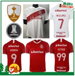 2019 Internacional fútbol local casa camiseta roja de fútbol de Brasil 19 20 Damiao Silva D'Alessandro Adulto hombre mujer camiseta de fútbol desde fabricantes