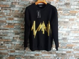 Nuove felpe online-New Balmain Hoodies Mens Designer Hoodies Street Alta qualità Loose Fit Luxury Hoodie Mens Womens Designer Maglioni