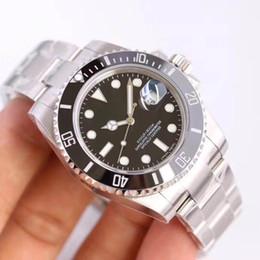 Relógios de Mens luxo Automático Mecânico 2813 relógio de movimento 116610 modelo de cerâmica de negócios Relógios de Safira luminosa À Prova D 'Água 30 M de
