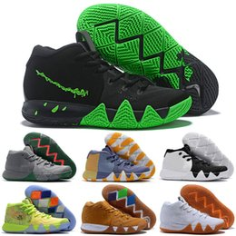 Canada 4 Kyrie IV Hommes Chaussures de basketball Irving 4s Confetti All-Star Madness City Guardians Londres Mamba Chaussures de sport Designer Baskets Taille 40-46 cheap guardian arts Offre