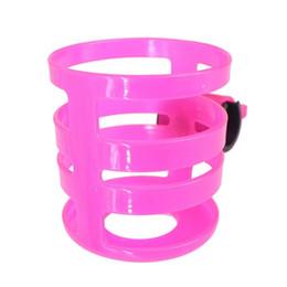 Pink water bottle en Ligne-Porte-boissons poussette porte-boisson porte-bouteille porte-bouteilles cage pour poussette vélo (rose) # 663277