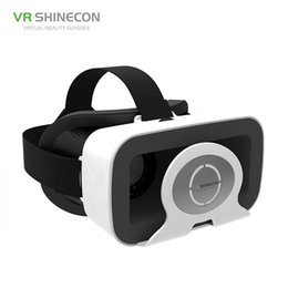 """Huawei 4,7 on-line-Shinecon realidade virtual vr óculos headset on line 3d moives jogos online capacete para iphone huawei android 4.7-6 """"telefone inteligente"""