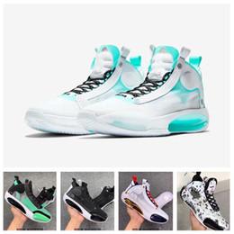 zapatos de baloncesto de estados unidos Rebajas Nueva Jumpman 34 XXXIV Negro Azul Blanco Oro USA Zapatos de Graffiti de baloncesto para hombre aj 34s Sion Williamson Deportes diseñador zapatillas de deporte Tamaño 7-12