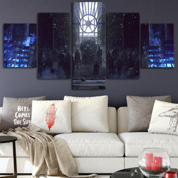pinturas de limón Rebajas Game of Thrones Canvas Posters Home Decor Wall Art Framework 5 piezas Pinturas para sala de estar Impresiones en HD Cuadros modernos