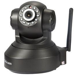 piccola telecamera interna ip Sconti 720P IP WIFI Camera Wireless Camera 128GB Registrazione vocale Audio bidirezionale WiFi Telecamera di sicurezza domestica 10M Visione notturna Surveillanc registrazione audio