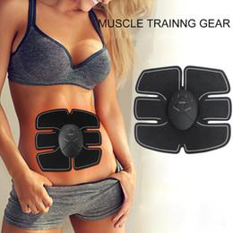 masajeador estimulador Rebajas Nuevo equipo de fitness inteligente inalámbrico caliente brazo abdominal cinturón abs masajeador estimulador muscular entrenador envío gratis