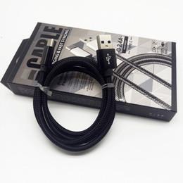 QiChen 2.1A Balık Net Örgülü Metal Usb Kablosu Perakende Paketi Ile Alüminyum Folyo Ile Siyah Ipek Örgü nereden