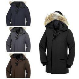 2020 baixo casaco inverno canada Luxo Canadá Down Jacket Jacket Mens deisgner Inverno Homens Mulheres Alta Qualidade Canadá Inverno Jacket Casacos Designer Casacos de inverno baixo casaco inverno canada barato