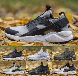 huarache laufschuhe herren Rabatt 2019 Air Huarache Herren Laufschuhe Huaraches 4.0 Ultra Trainer Damen Sportschuhe Weiß Schwarz Designer Sneakers