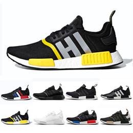 premium selection bdf6a 7233b mejor nmd Rebajas 2019 NMD R1 Thunde Bred Primeknit zapatos para correr  Clásico Triple Rojo Negro