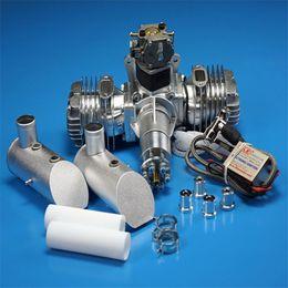 L'extension du tuyau d'échappement bi-cylindre à deux temps du moteur à essence 111CC du moteur DLE111 pour les avions RC appartient à la Jouet / Télécommande / Pièces ? partir de fabricateur