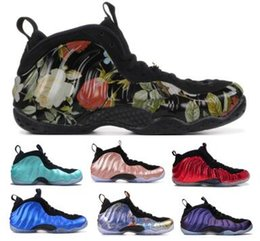 reputable site e3edc 854df 2019 Penny Hardaway 1 One Chaussures de Basketball Baskets Hommes Homme  Gris Habanero Denim Ile de Sequoia Aubergine Classic Airs Mousses Chaussure  Pro ...