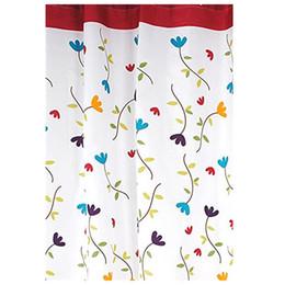 existencias de cortina Rebajas Apertura de promoción-Ducha cortina de baño impermeable molde orquídea