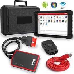 2019 computador de diagnóstico de carro vw Multi-Línguas completas quentes do sistema completo do varredor da ferramenta diagnóstica de UCANDAS VDM V3.9 Wifi OBD2