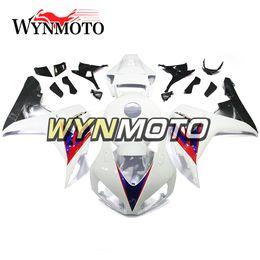 Verkleidungen fireblade online-Full Fireblade White Motorrad Verkleidungskit Komplette Verkleidung passend für Honda CBR1000RR 2006 2007 06 07 Bike Covers New Cowlings