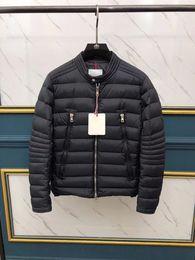 mens invernali leggeri Sconti Piumino da uomo caldo giacca AMIOT Uomo Piumino da uomo all'aperto Cappotto invernale Giacche Parka leggero