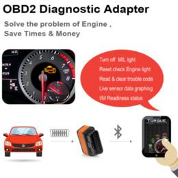 Ancel icar2 OBD2 ELM327 V1.5 Adaptador Bluetooth Escáner automotriz Herramienta de diagnóstico de coche ELM 327 Lector de código de error de coche ODB2 ELM327 desde fabricantes